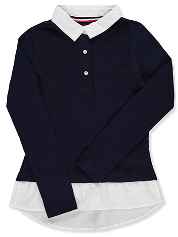 French Toast Girls' L/S Layered Top - CookiesKids.com