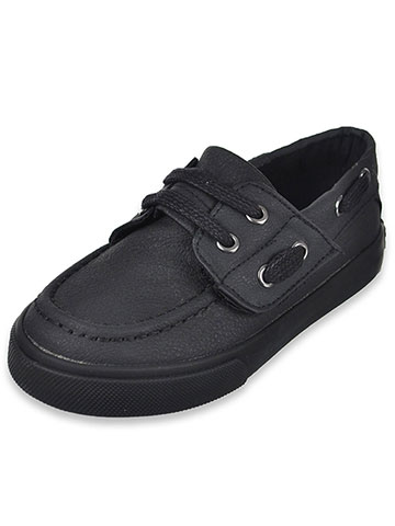 French Toast Boys' Boat Shoes (Sizes 5 – 10) - CookiesKids.com