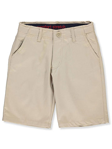 French Toast Boys' Flat Front Stretch Performance Shorts - CookiesKids.com