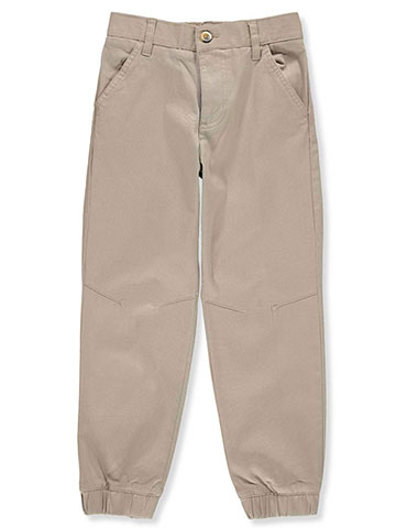 French Toast Boys' Stretch Twill Joggers - CookiesKids.com