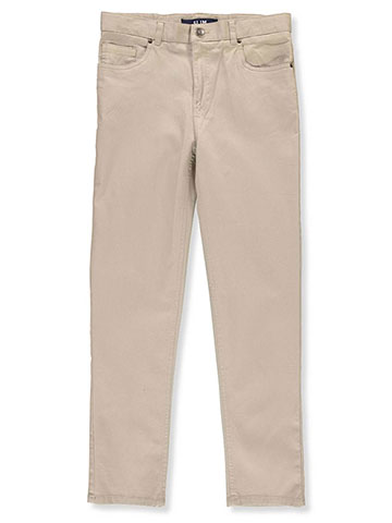 French Toast Boys' Stretch Twill Slim Pants - CookiesKids.com