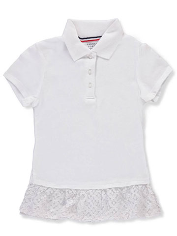 French Toast Girls' Knit Polo - CookiesKids.com