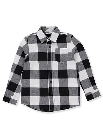 French Toast Boys' L/S Button-Down Shirt - CookiesKids.com