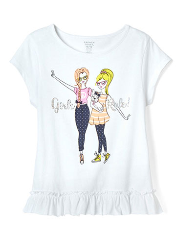 French Toast Girls' T-Shirt - CookiesKids.com