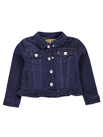 Levi's Baby Girls' Denim Jacket - CookiesKids.com