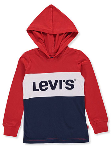 Levi's Boys' Hooded L/S T-Shirt - CookiesKids.com