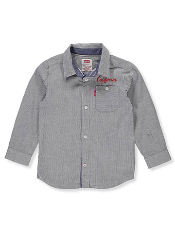 Levi's Boys' L/S Button-Down Shirt - CookiesKids.com