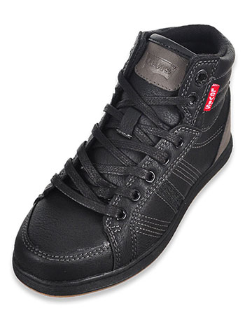 Levi's Boys' Paxton Hi-Top Sneakers (Sizes 11 – 3) - CookiesKids.com
