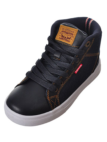 Levi's Boys' Cliff Hi-Top Sneakers (Sizes 11 – 3) - CookiesKids.com