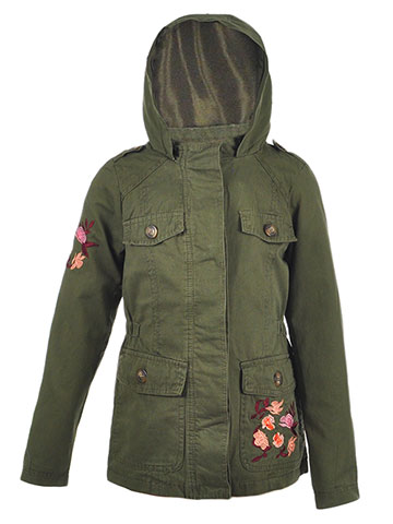 Beverly Hills Polo Club Girls' Hooded Jacket - CookiesKids.com