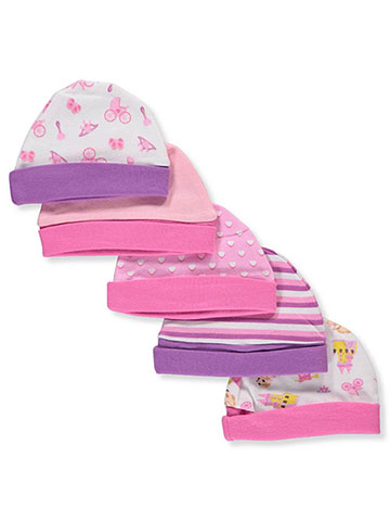 Precious Moments Baby Girls' 5-Pack Caps - CookiesKids.com