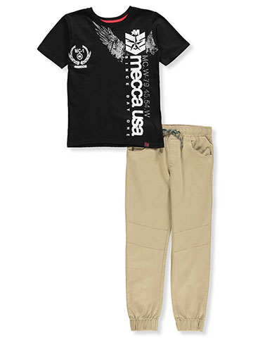 Mecca Boys' 2-Piece Pants Set Outfit - CookiesKids.com