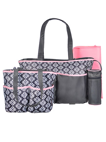 Babyboom 5-Piece Diaper Bag Set - CookiesKids.com