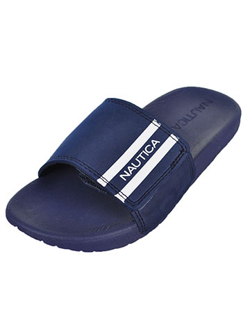 Nautica Boys' Slide Sandals (Sizes 13 – 5) - CookiesKids.com