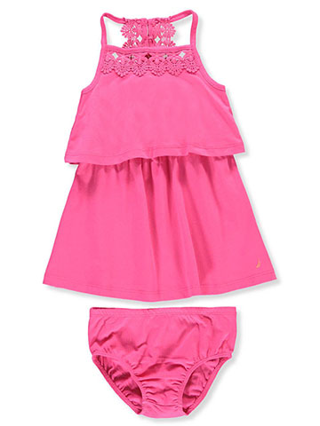 Nautica Girls' Dress with Diaper Cover - CookiesKids.com