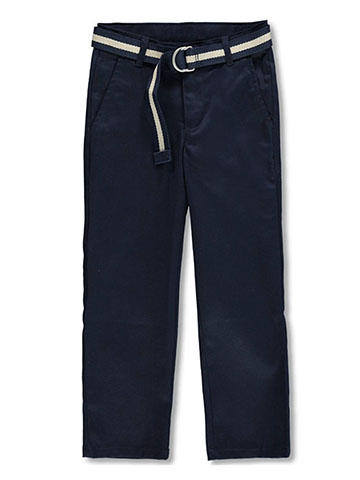 Nautica Boys' Belted Twill Pants - CookiesKids.com
