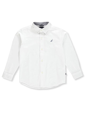 Nautica Boys' L/S Button-Down - CookiesKids.com