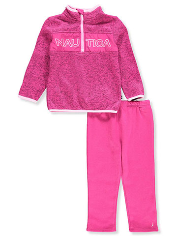 Nautica Baby Girls' 2-Piece Pants Set Outfit - CookiesKids.com