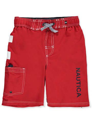 a3ce660695 Nautica Boys' Board Shorts - CookiesKids.com
