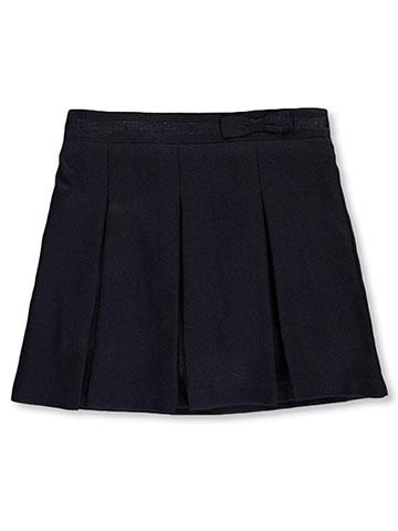 7fc8d3a8a3b1 Nautica Girls' School Uniform Glitter Bow Scooter Skirt - CookiesKids.com