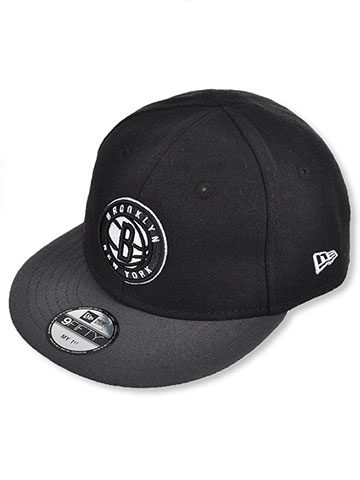 New Era My 1st 950 Brooklyn Nets Snapback Cap (Infant One Size) - CookiesKids.com