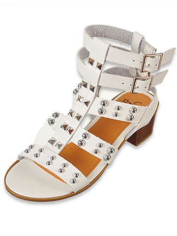 Olivia Miller Girls' Gladiator Sandals (Sizes 11 –5) - CookiesKids.com