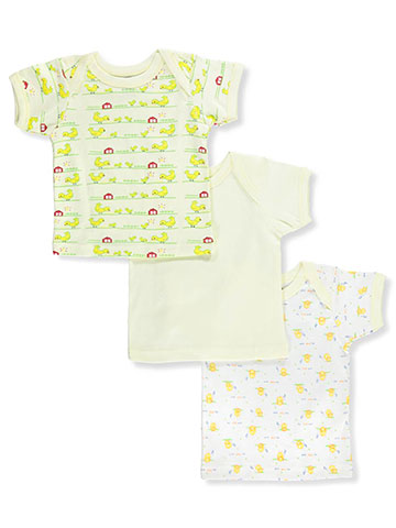 Big Oshi Unisex Baby 3-Pack Lap Shoulder T-Shirts - CookiesKids.com
