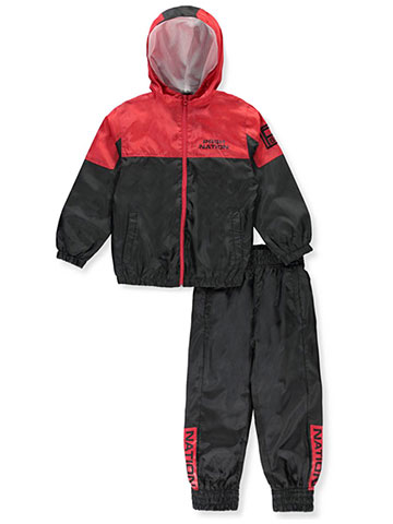 Parish Nation Boys' 2-Piece Tracksuit Pant Set - CookiesKids.com