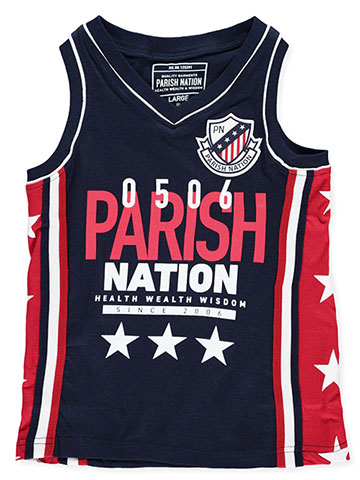 Parish Nation Boys' V-Neck Tank Top - CookiesKids.com