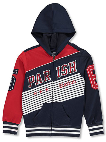 Parish Nation Boys' Hooded Tricot Track Jacket - CookiesKids.com