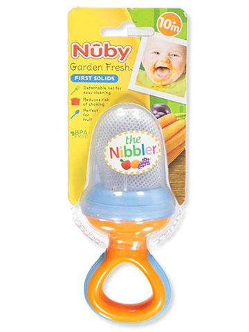 Nuby Nibbler Feeder with Travel Cover - CookiesKids.com