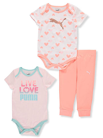 Puma Baby Girls' 3-Piece Set - CookiesKids.com