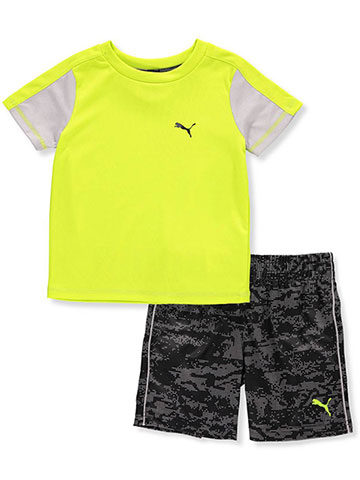 Puma Baby Boys' 2-Piece Short Set Outfit - CookiesKids.com