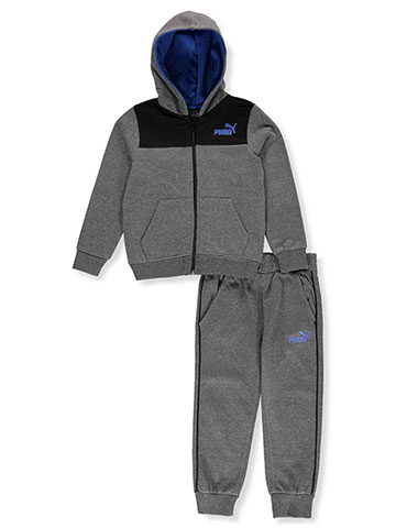 Puma Boys' 2-Piece Sweatsuit Pants Set - CookiesKids.com