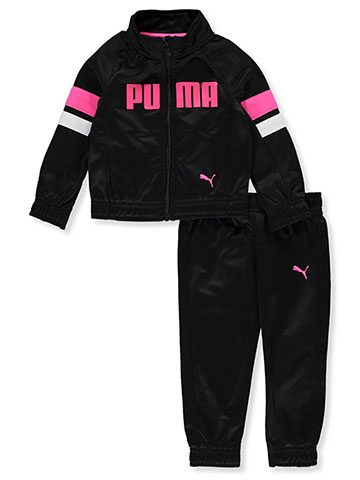 Puma Baby Girls' 2-Piece Tracksuit Pants Set - CookiesKids.com