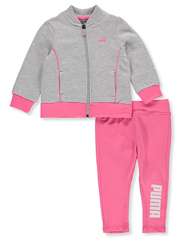 Puma Baby Girls' 2-Piece Leggings Set Outfit - CookiesKids.com