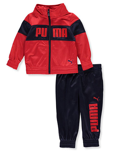 Puma Baby Boys' 2-Piece Tracksuit Pants Set - CookiesKids.com