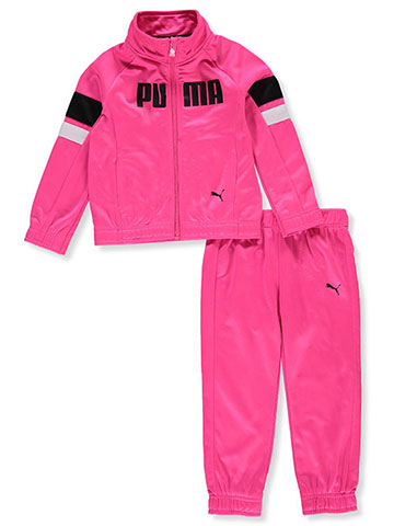 Puma Girls' 2-Piece Tracksuit Pants Set - CookiesKids.com