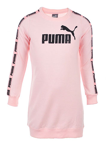 Puma Girls' French Terry Sweater Dress - CookiesKids.com