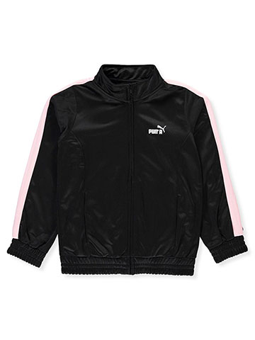 Puma Girls' Tricot Track Jacket - CookiesKids.com