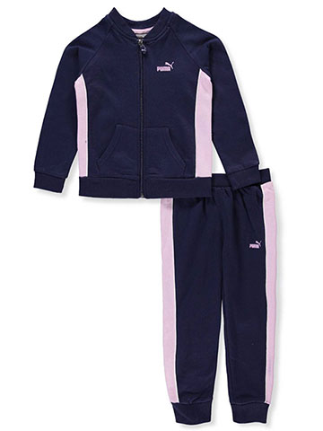 Puma Girls' 2-Piece Tracksuit Pant Set - CookiesKids.com