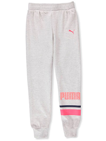 Puma Girls' Fleece Joggers - CookiesKids.com