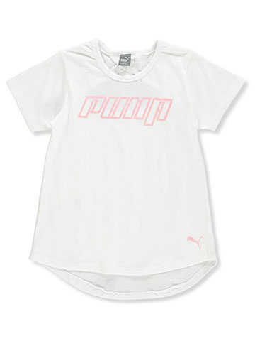 Puma Girls' S/S T-Shirt - CookiesKids.com