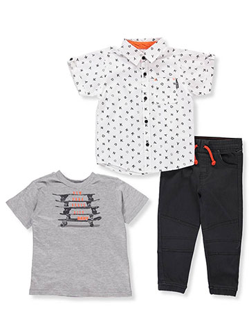 DKNY Baby Boys' 3-Piece Pants Set Outfit - CookiesKids.com