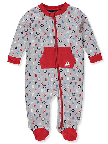 Reebok Baby Boys' Footed Coverall - CookiesKids.com