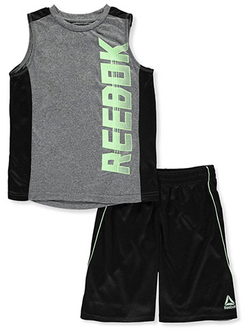 Reebok Boys' 2-Piece Shorts Set Outfit - CookiesKids.com