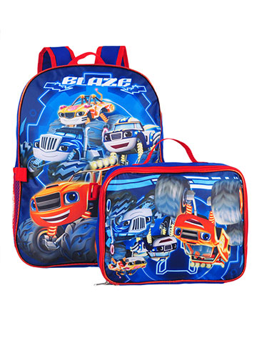 Blaze and the Monster Machines Backpack with Insulated Lunchbox - CookiesKids.com