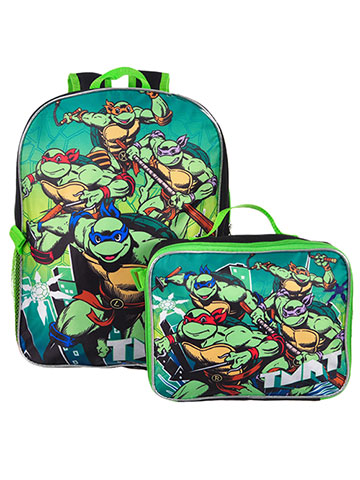 Teenage Mutant Ninja Turtles Backpack with Insulated Lunchbox - CookiesKids.com