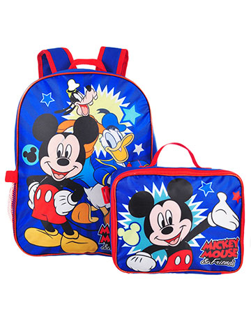 Disney Mickey Mouse Backpack with Insulated Lunchbox - CookiesKids.com