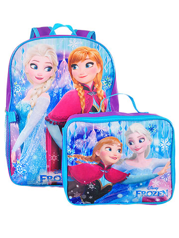 Disney Frozen Backpack with Insulated Lunchbox - CookiesKids.com